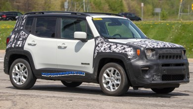 Photo of SPIED: 2019 Jeep Renegade Latitude With Possible Turbo???
