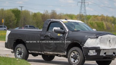 Photo of SPIED: Ram 2500HD Models Including Regular Cab Models:
