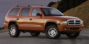 2002 Dodge Durango SLT 4x4. (FCA US Photo)