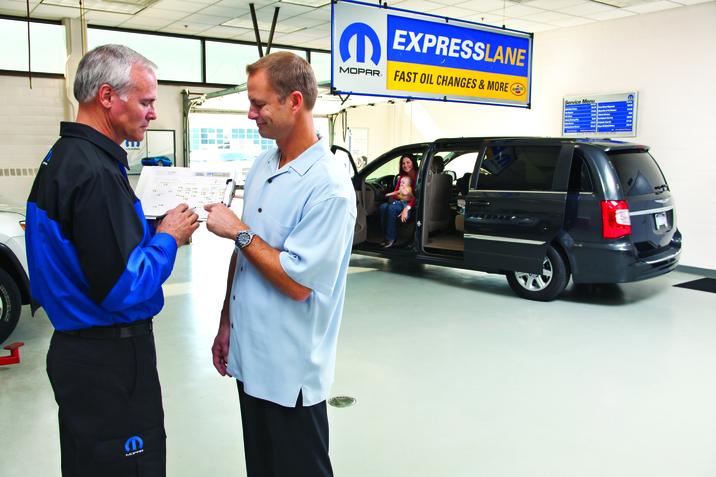 Mopar Celebrates One Decade of Express Lane Service ...