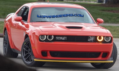 2019 Dodge Challenger SRT HELLCAT Widebody Prototype. (Real Fast Fotography)