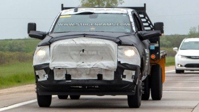 Photo of SPIED: 2020 Ram 3500 Heavy Duty Chassis Cab: