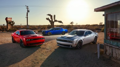 Photo of Trio Of Challenger Widebodies Invade Jay Leno's Garage:
