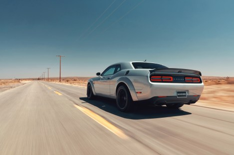 2019 Dodge Challenger SRT HELLCAT Redeye Widebody. (FCA US Photo)