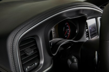 2019 Dodge Charger GT with all-new premium stitched dash and door uppers. (Dodge).