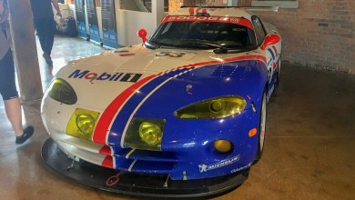 Photo of Historic Viper Makes Appearance At Le Mans Party in Detroit: