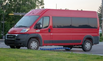 2019 Ram ProMaster 2500. (Real Fast Fotography)