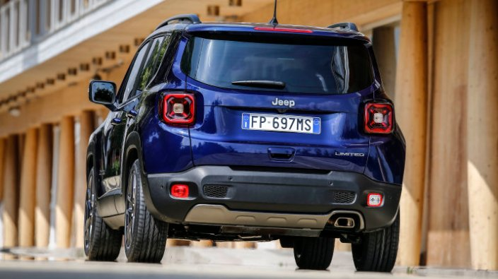 2019 Jeep Renegade Limited Rear Teaser. (Jeep)