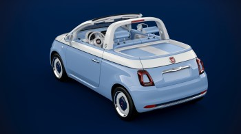 "Fiat 500 ""Spiaggina '58 Production Model. (FCA)"