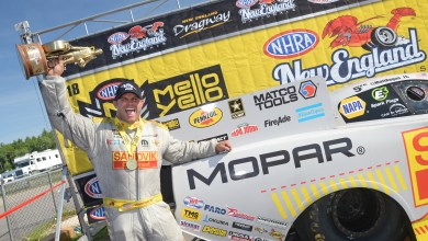 Photo of Hagan Wins NHRA New England Nationals!