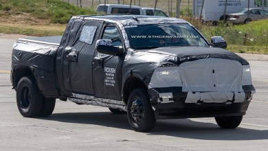 Photo of SPOTTED: 2020 Ram 3500 Mega Cab Dually Prototype: