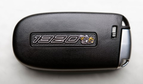 The key fob for the 2019 Dodge Challenger R/T Scat Pack 1320. (Dodge)