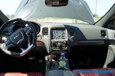 Durango SRT interior