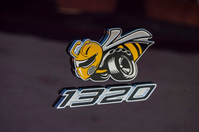 """2019 Dodge Challenger R/T Scat Pack 1320 """"Angry Bee"""" Logo. (Dodge)"""