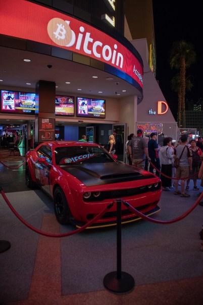 """Win Derek's 2018 Dodge Demon"" at The D Casino in Las Vegas. (MoparInsiders)"