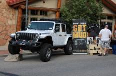 Mopar Jeep Performance Parts Display. (Mopar)