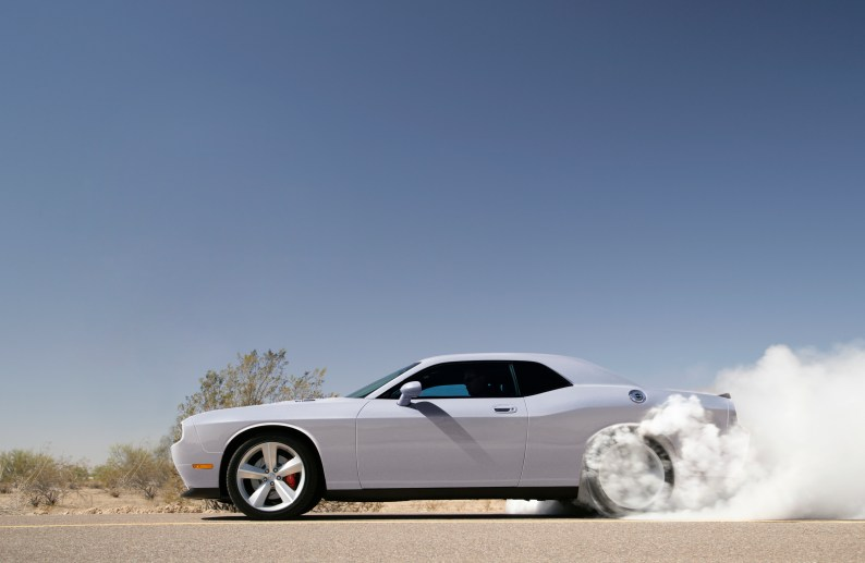 2008 Dodge Challenger SRT8. (Dodge)