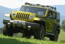 Photo of Inside Design: 2004 Jeep® Rescue Concept: