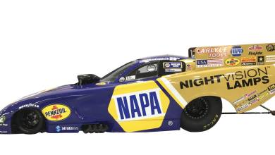 Photo of Ron Capps To Feature NAPA NIGHTVISION Lamps Scheme At NHRA Carolina Nationals: