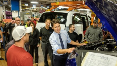 Photo of Windsor Assembly Plant Gets A Visit From Canadian Prime Minister: