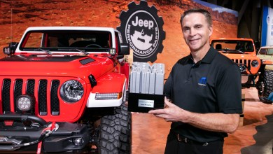 Photo of Jeep® Wrangler Earns Ninth Consecutive SEMA '4×4/SUV of the Year' Award: