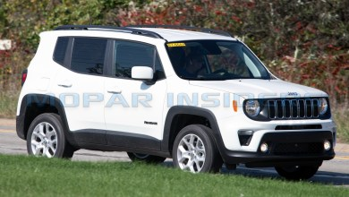 Photo of SPOTTED: North American 2019 Jeep Renegade Latitude: