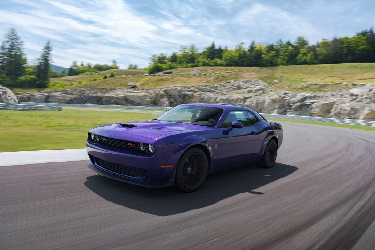 Challenger R T Scat Pack Widebody The Canyon Carving Challenger