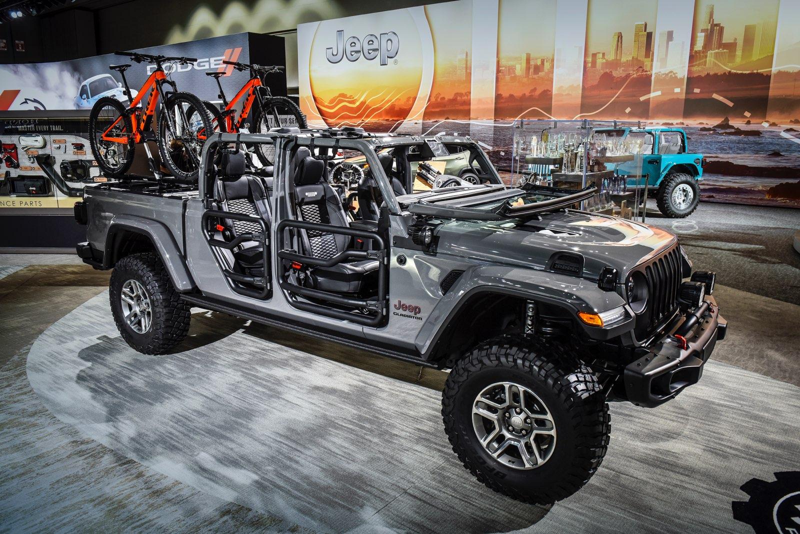 Mopar-Modified 2020 Jeep Gladiator Rubicon Shows Off New ...