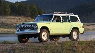 Photo of Inside Design: 1965 Jeep® Wagoneer Roadtrip Concept: