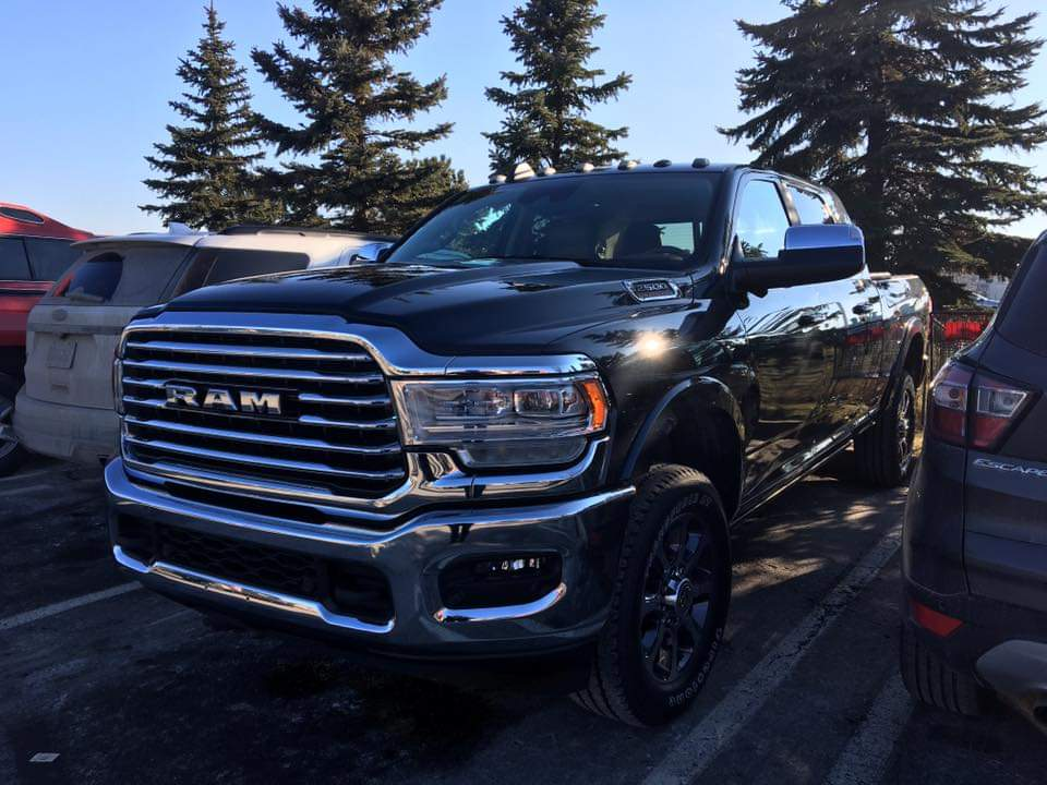 CAUGHT: 2019 Ram 2500 Heavy Duty Laramie Longhorn Mega Cab ...
