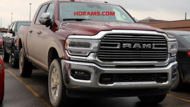 Photo of CAUGHT: 2019 Ram 2500 Laramie Mega Cab 4×4: