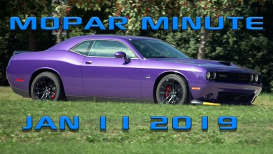 Photo of VIDEO: Mopar Minute – Friday, January 11th, 2019: