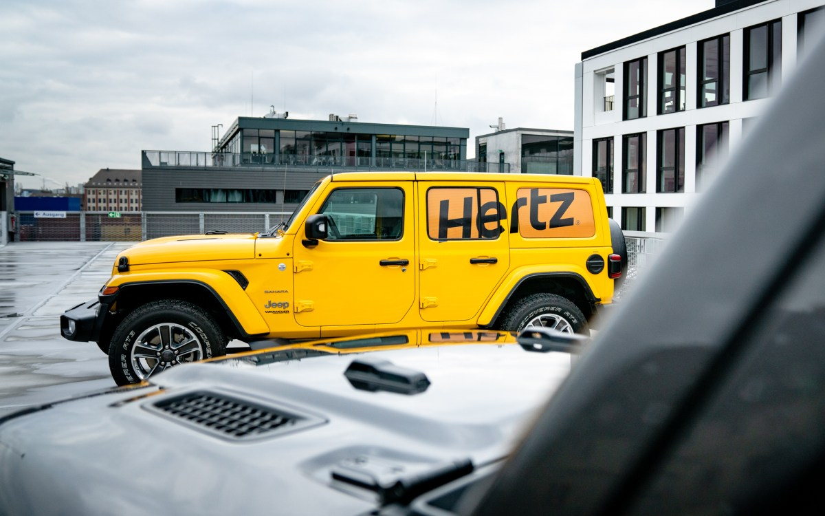 Hertz Partners With Jeep® To Offer Wranglers In Germany: