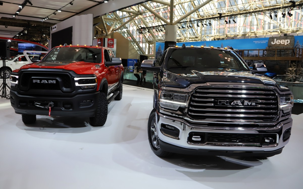FCA Canada Shines At The Canadian International Auto Show:
