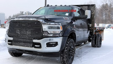 Photo of SPOTTED: 2019 Ram 5500 Laramie Chassis Cab Cold Weather Testing: