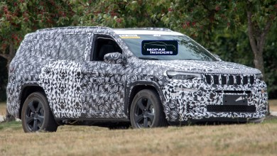 Photo of CAUGHT: 2019 Jeep Grand Commander PHEV In Production Body: