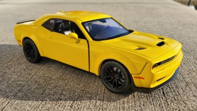 Photo of Collectibles: MotorMax 1:24 2018 Dodge Challenger SRT HELLCAT Widebody: