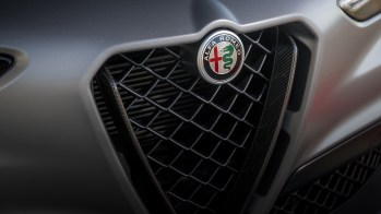 2019 Alfa Romeo Stelvio Quadrifoglio NRING. (Alfa Romeo).
