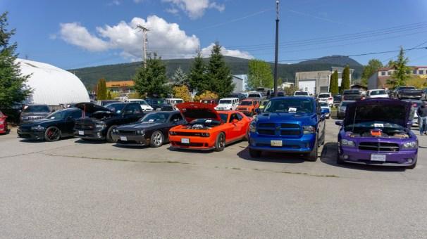 Haley Dodge charity car show in Gibsons, B.C (Moparinsiders)