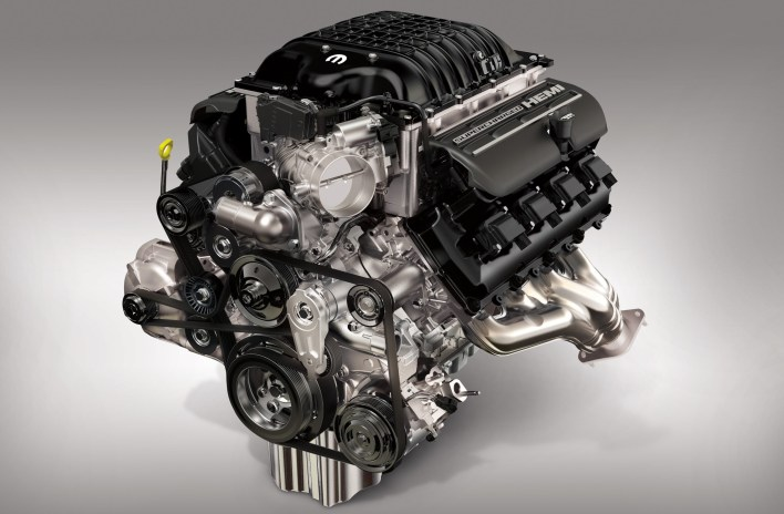 """Hellephant"" 426 Supercharged Mopar Crate HEMI® Engine. (Mopar)."