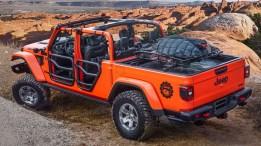 Jeep® Gladiator Gravity Concept. (Jeep®).