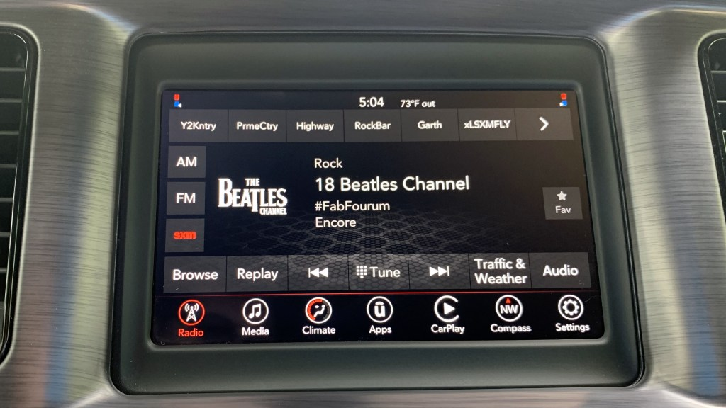 Quick Look: 7-Inch Uconnect Touchscreen Infotainment System