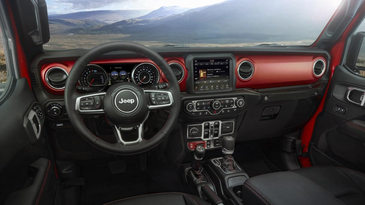 2020 Jeep® Gladiator Awarded 10-Best Interiors By WardsAuto: