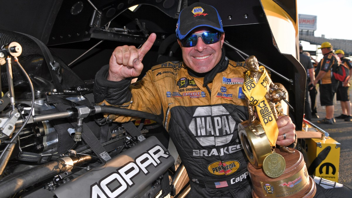 Ron Capps Takes Back-to-Back Wins After Winning NHRA Virginia Nationals: