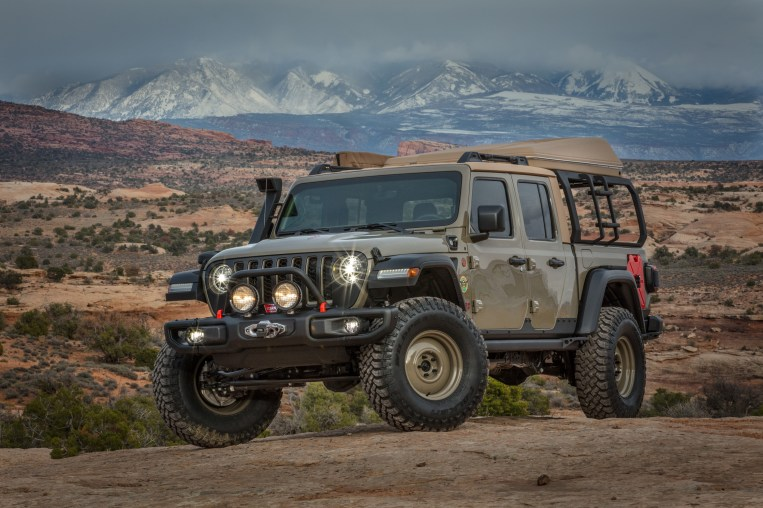 Inside Design Jeep 174 Gladiator Wayout Concept Mopar