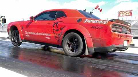 Dave Hayes' 2018 Dodge Challenger SRT Demon. (Dave Hayes).