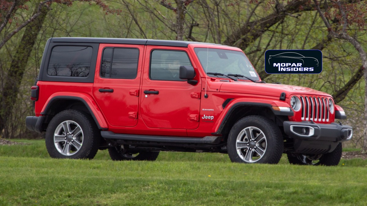 SPOTTED: Production-Spec 2020 Jeep® Wrangler Unlimited Sahara EcoDiesel: