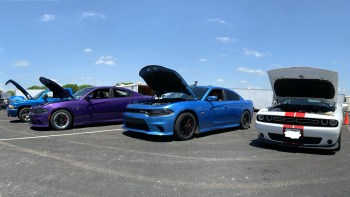 Between Races at Alamo City Motorplex. (MoparInsiders).