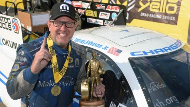 Photo of Johnson Takes Home The Win At The NHRA Route 66 Nationals: