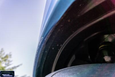 Clear coat defect on Moparinsiders 2019 Dodge Challenger 1320 (Moparinsiders)